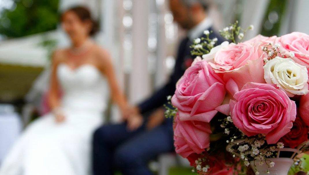 bouquet mariée + mariés