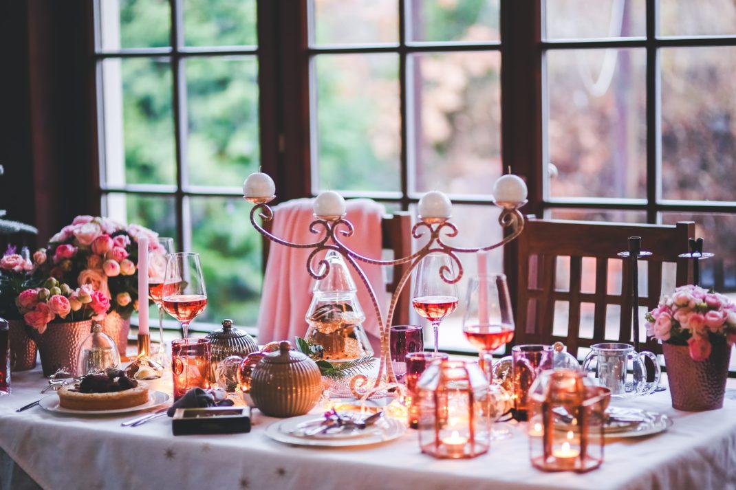table fête décorée