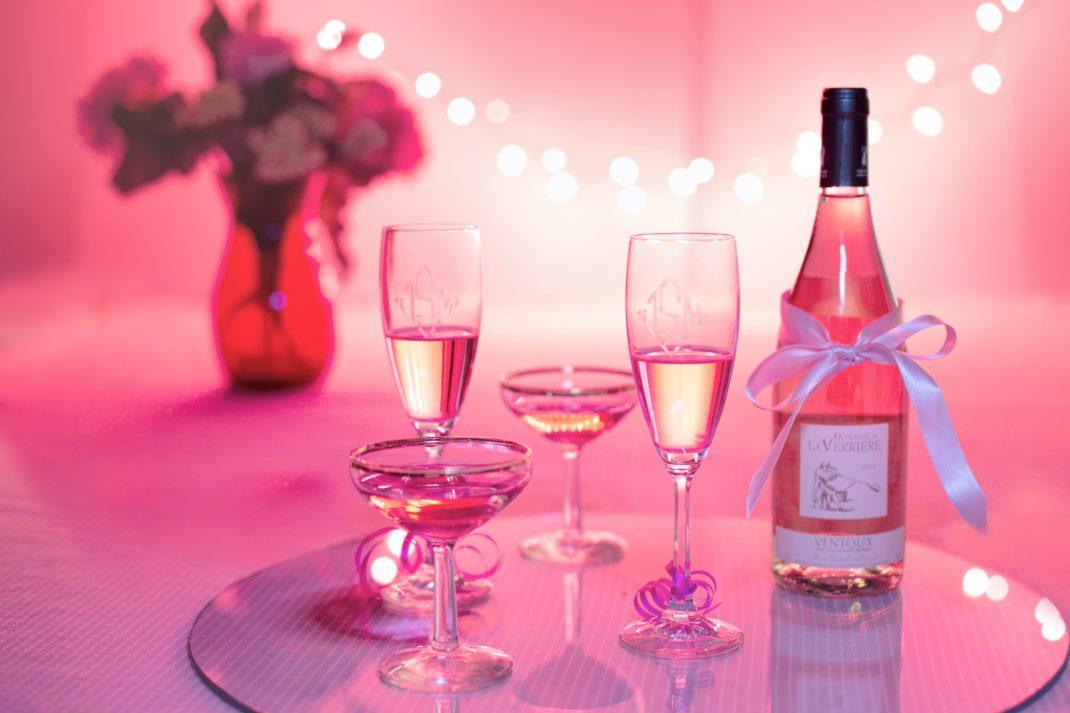 apéritif en rose